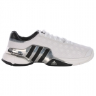 Adidas Men's Barricade 2015 Tennis Shoes (Wht/ Sil/ Blk) - Men's Tennis Shoes