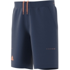 Adidas Men's Barricade Bermuda Short (Mystery Blue/Glow Orange) - Adidas Men's Tennis Apparel