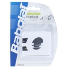 Babolat Headband (White) - Babolat Headbands & Writsbands Tennis Apparel