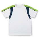 LMT Classic Crew (White/ Green/ Navy) - LMT Tennis Apparel