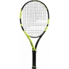 Babolat Pure Aero Junior 25 Tennis Racquet (Black/Yellow) - Babolat Junior Tennis Racquets