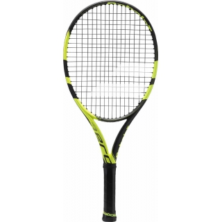 Babolat Pure Aero Junior 25 Tennis Racquet (Black/Yellow)