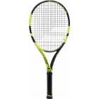 Babolat Pure Aero Junior 26 Tennis Racquet (Black/Yellow) - Tennis For Kids