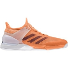 Adidas Men's Adizero Ubersonic 2 Tennis Shoe (Glow Orange/Maroon/White) - Men's Tennis Shoes