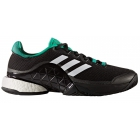 Adidas Men's Barricade Boost Tennis Shoe (Core Black/White/Dark Grey/Heather/Solid Grey) - Types of Tennis Shoes