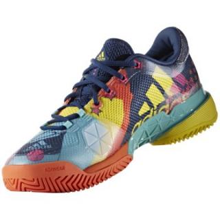 size 40 19b9d 1bba3 Adidas Men s Barricade Pop Art 2017 Tennis Shoes Limited Edition