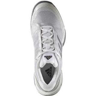 Adidas Men's Barricade Club Tennis Shoe (Metallic/White/Black)