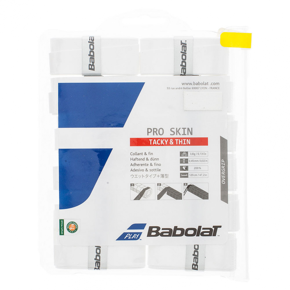 Babolat Pro Skin Tacky Overgrip 12-Pack