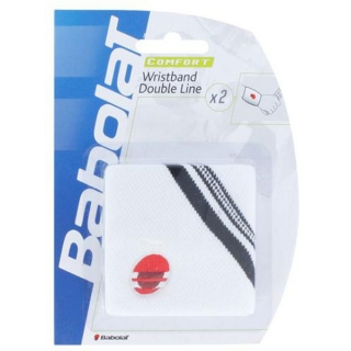 Babolat Double Line Wristband 2Pack