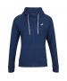 Babolat Women's Exercise Hooded Tennis Training Jacket (Estate Blue/Heather) - Babolat Women's Tennis Apparel