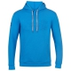 Babolat Boy's Exercise Hooded Tennis Training Sweatshirt (Blue Aster) - Babolat Junior Tennis Apparel