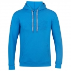 Babolat Men's Exercise Hooded Tennis Training Sweatshirt (Blue Aster) - Bloq-UV Men's Tennis Apparel