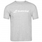 Babolat Men's Exercise Crew Neck Tennis Training Tee (High Rise/Heather) - Get it Fast! Enjoy FedEx 2-Day Shipping on Select Tennis Gear