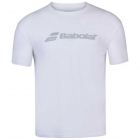 Babolat Men's Exercise Crew Neck Tennis Training Tee (White/White) - Get it Fast! Enjoy FedEx 2-Day Shipping on Select Tennis Gear