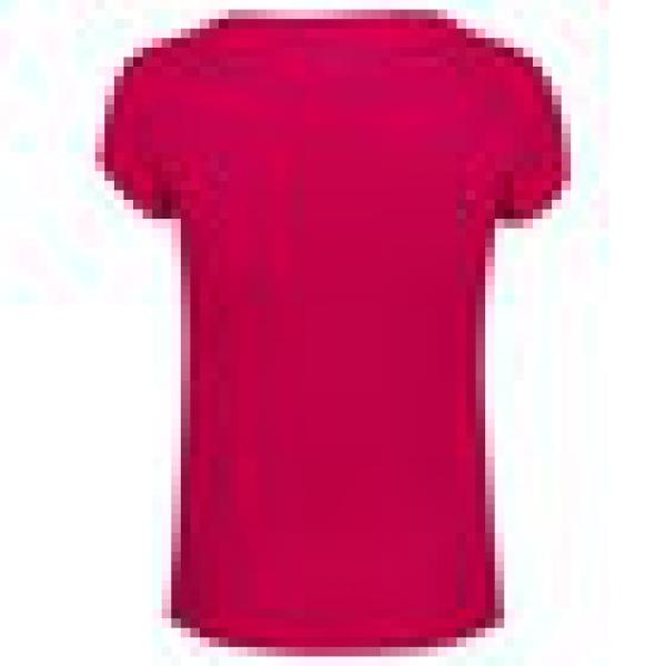 Babolat Girls' Exercise Tennis Training Tee (Red Rose/Heather)