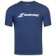 Babolat Boy's Exercise Tennis Training Tee (Estate Blue/Heather) -