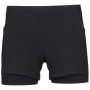 Babolat Women's Exercise Tennis Training Shorts (Black/Black)