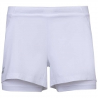 Babolat Women's Exercise Tennis Training Shorts (White/White) -