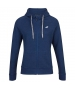 Babolat Girl's Exercise Hooded Tennis Training Jacket (Estate Blue/Heather) - Girl's Tops