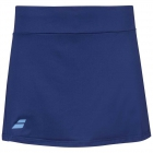 Babolat Girl's Play Tennis Skirt with built in Shorties (Estate Blue) - Girl's Tennis Apparel