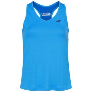 Babolat Girl's Play Tennis Tank Top (Blue Aster)