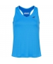 Babolat Girl's Play Tennis Tank Top (Blue Aster) - Girl's Tops