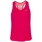 Babolat Girl's Play Tennis Tank Top (Red Rose) - Girl's Tennis Apparel