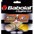Babolat Hybrid Pro Hurricane Tour 17g / XCEL 16g (Set) - Tennis String Brands