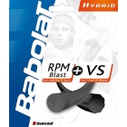 Babolat Hybrid RPM Blast 17g/ VS Gut 16g (Set) - Hybrid and 1/2 Sets Tennis String
