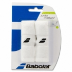 Babolat Jumbo Wristband (White) - Tennis Apparel Brands