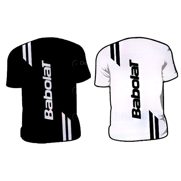Babolat Men's Double Line T-Shirt (Team)
