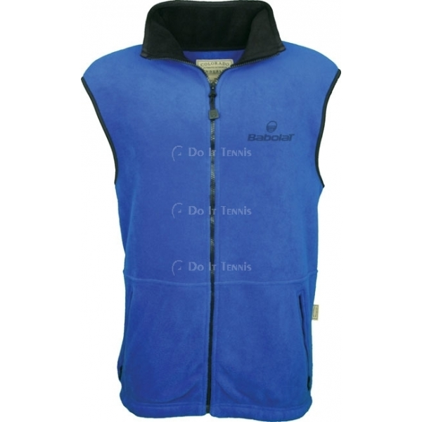 Babolat Men's Fleece Vest (Royal)