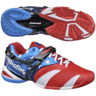 Babolat Men s Propulse 3 Stars   Stripes Tennis Shoe - Do It Tennis 07b8b4ee880
