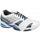 Babolat Men's SFX Shoes (Wht/ Blu/ Sil) - Babolat SFX Tennis Shoes