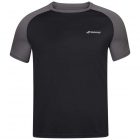 Babolat Men's Play Crew Neck Tennis Training Tee (Black/Black) - Get it Fast! Enjoy FedEx 2-Day Shipping on Select Tennis Gear