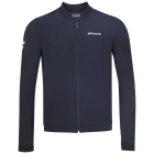 Babolat Men's Play Tennis Training Jacket (Black/Black) - Bloq-UV Men's Tennis Apparel