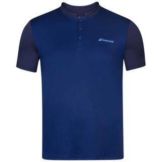 Babolat Boy's Play Tennis Polo (Estate Blue)