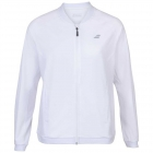 Babolat Women's Play Tennis Training Jacket (White/White) - Women's Jackets