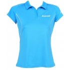 Babolat Girls' Match Core Polo (Turquoise) - Girl's Bottoms
