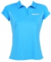 Babolat Girls' Match Core Polo (Turquoise) - Girl's Bottoms Tennis Apparel