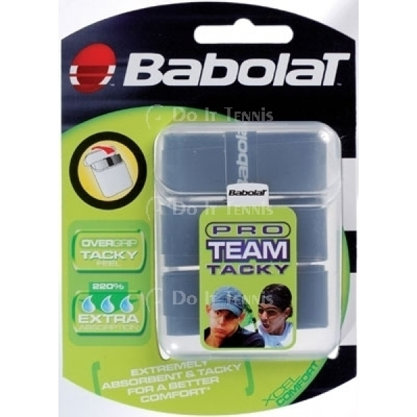 Babolat Pro Team Tacky Overgrip 12-Pack