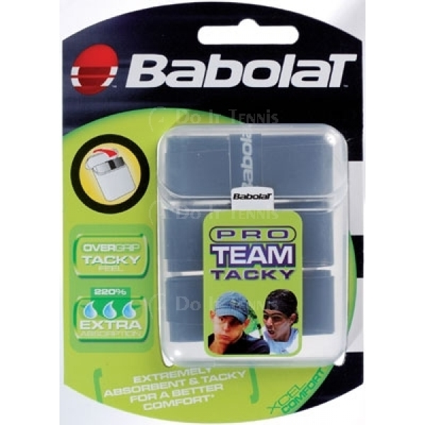 Babolat Pro Team Tacky Overgrip 3-Pack