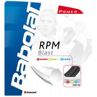 Babolat RPM Blast 18g Tennis String (Black)
