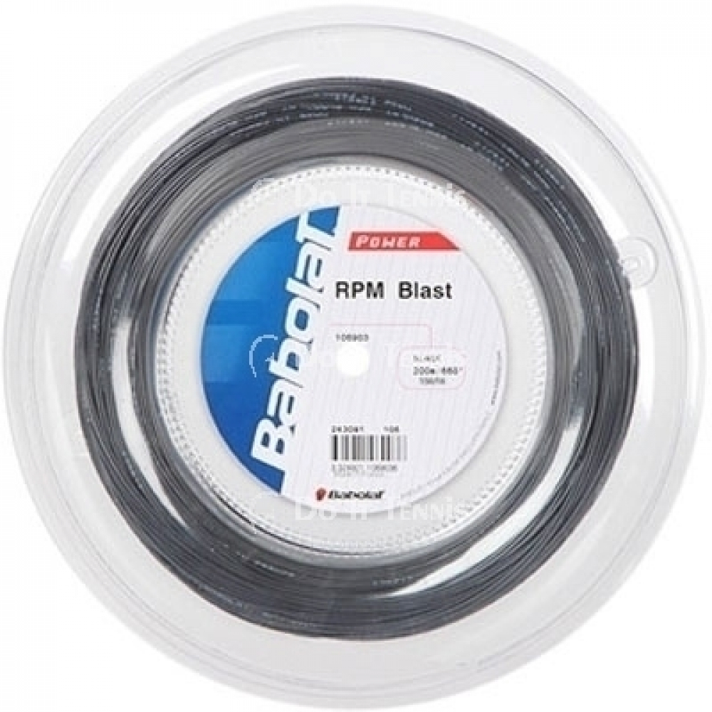 Babolat RPM Blast 18g Black Tennis String (Reel)