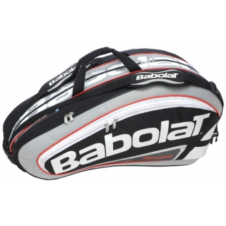 Babolat Team Racquet Holder x12 (Black/ Grey)