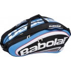 Babolat Team Racquet Holder x12 (Blue/ Black) - Babolat Team Tennis Bags
