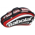 Babolat Team Racquet Holder x12 (Red/ Black) - Babolat Team Tennis Bags