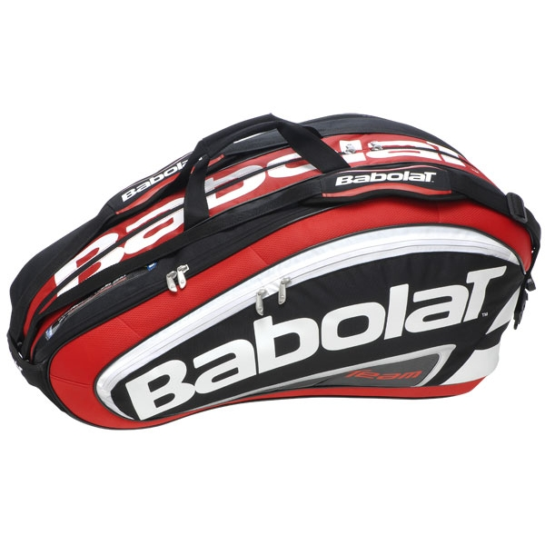 Babolat Team Racquet Holder x12 (Red/ Black)