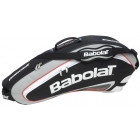 Babolat Team Racquet Holder x3 (Black/ Grey) - Babolat Team Tennis Bags