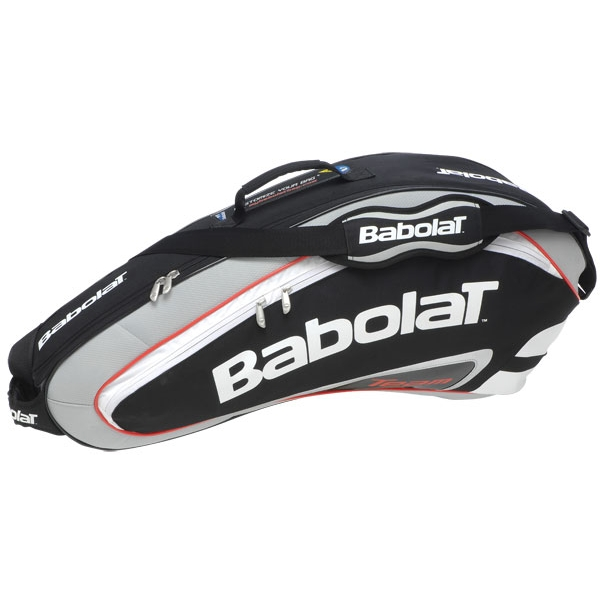 Babolat Team Racquet Holder x3 (Black/ Grey)